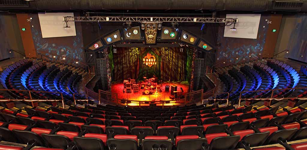 The stage at House of Blues