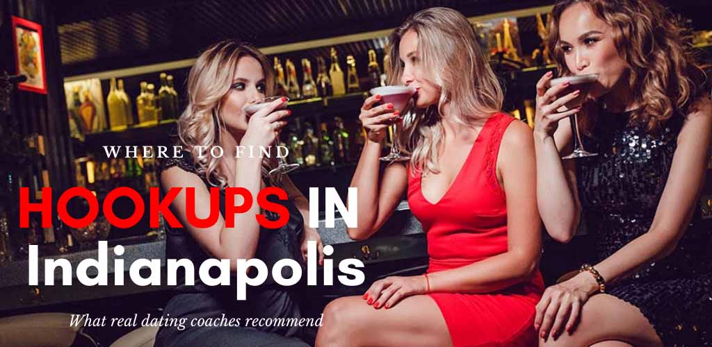 Hot women enjoying drinks at a bar while looking for Indianapolis hookups