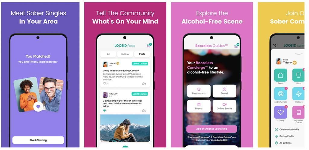 Loosid App Screenshots