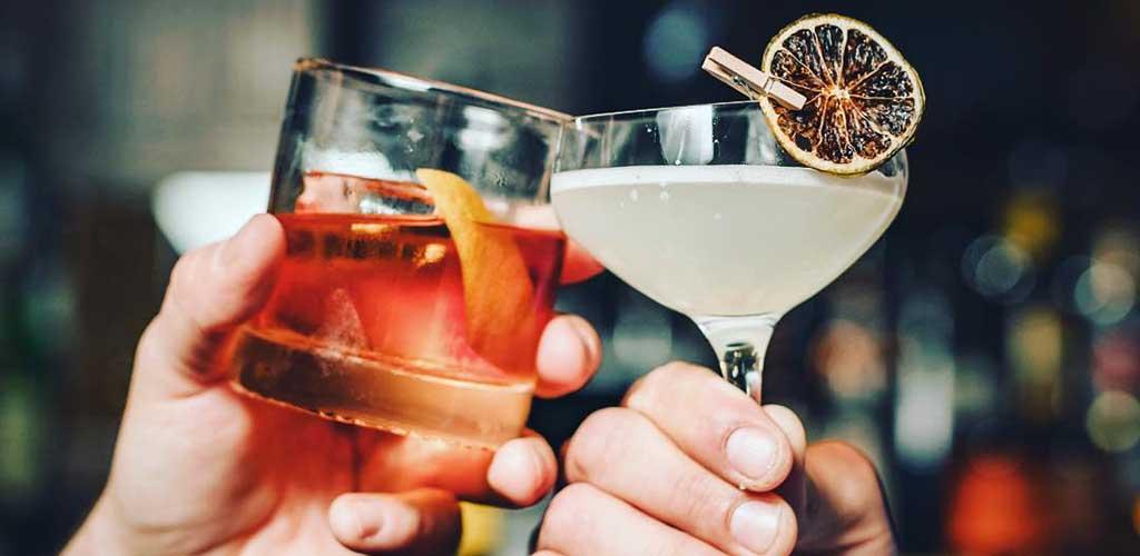 Cocktails from MercBar
