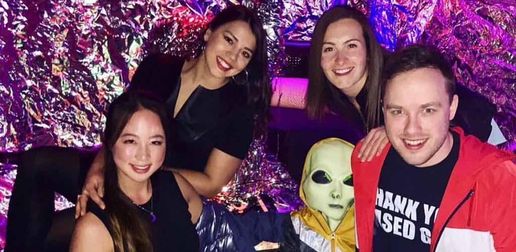 The pretty ladies at the Sakura Karaoke Lounge