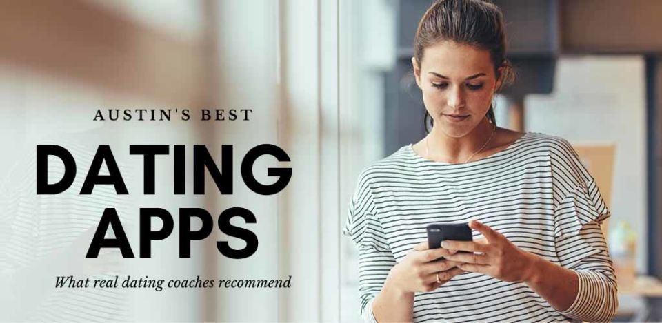 Hot woman checking out the best Austin dating apps and sites while at home