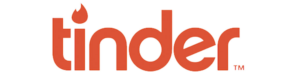 Logo for the top dating app Tinder
