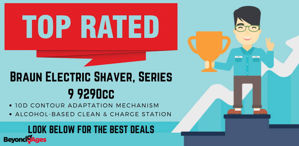 The Braun Electric Shaver Series 9 9290cc was the top-rated electric razor for a close shave