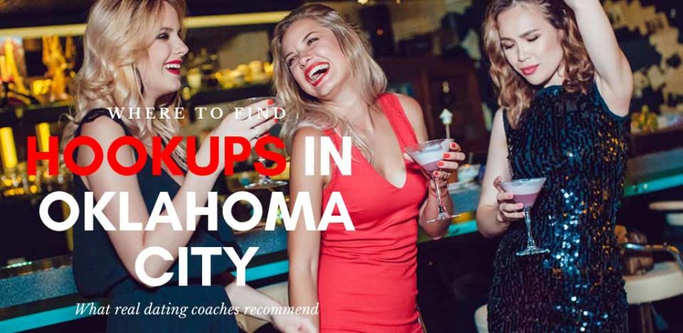 Trio of beautiful women looking for Oklahoma hookups at a bar