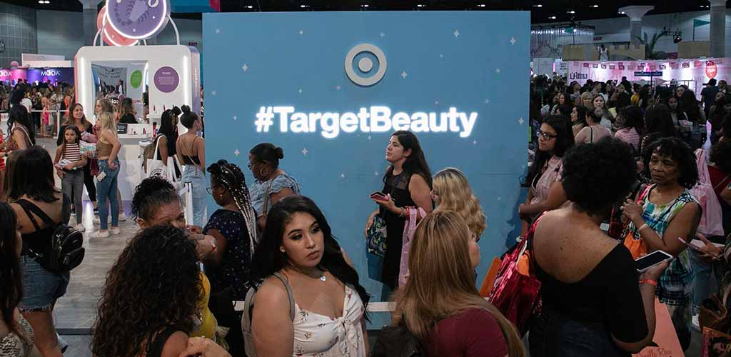 BBW in San Antonio shopping for beauty products at Target
