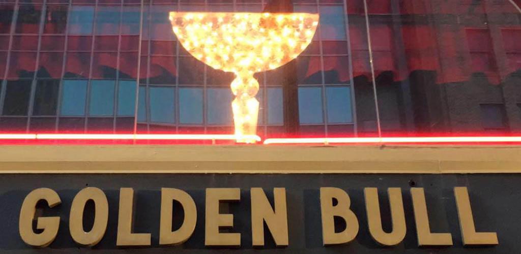 Beer Revolution Golden Bull signage