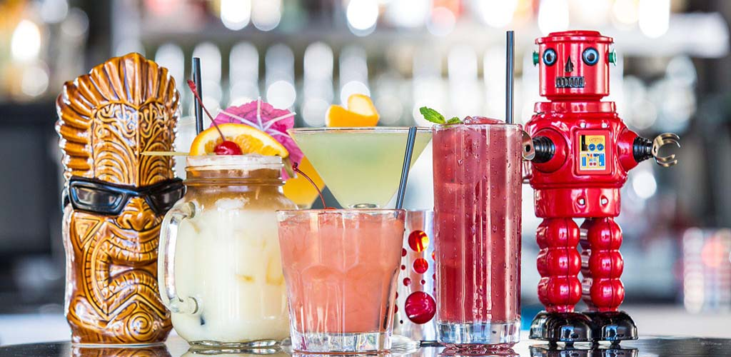 The Pump Bar drink offerings