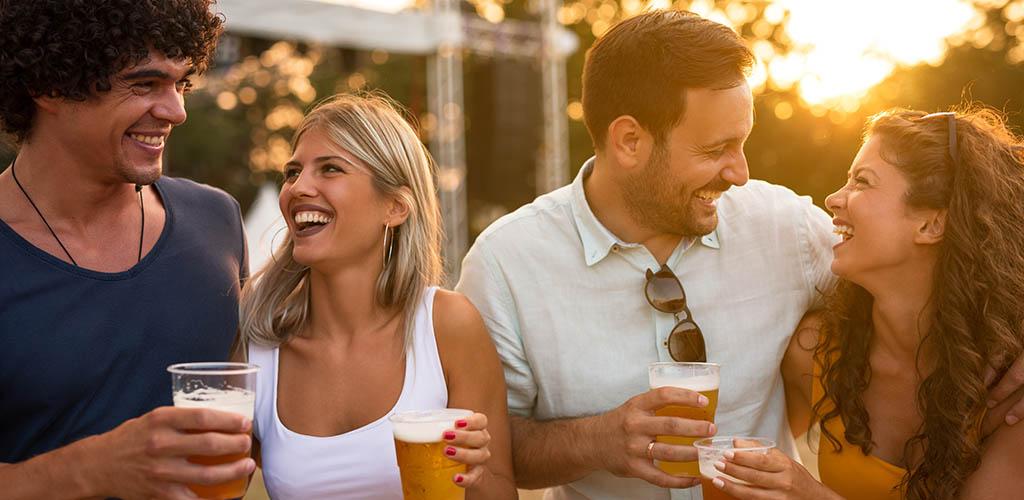 Enjoying drinks and new Santa Ana California hookups