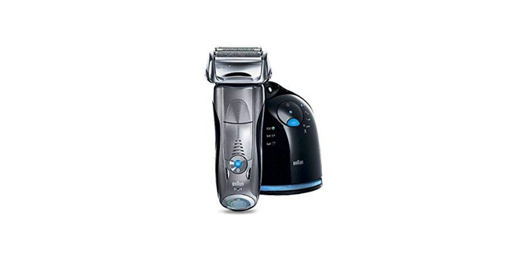 The Braun Series 7 790CC-4 Electric Foil Shaver is the Top Rated Electric Razor for Sensitive Skin