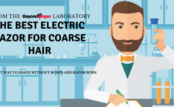 laboratory testing to find best electric razor for coarse hair