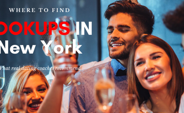 Partygoers looking for New York City hookups