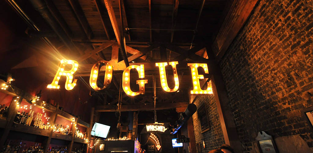 The Rogue main bar