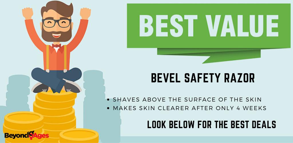 The Bevel Safety Razor is the Best Value Safety Razor for Black Men