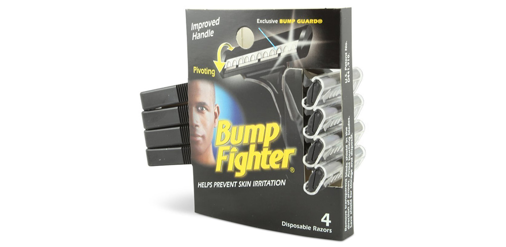 The Bump Fighter Men's Disposable Razors is the Top Rated Disposable Razor for Black Men
