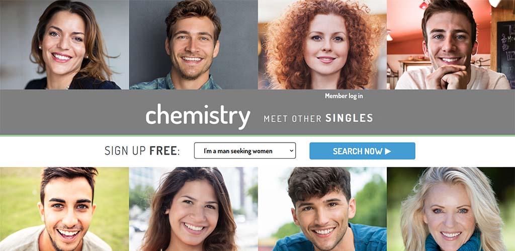 Chemistry.com landing page