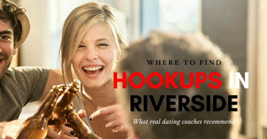 Friends drinking beers and loking for Riverside hookups