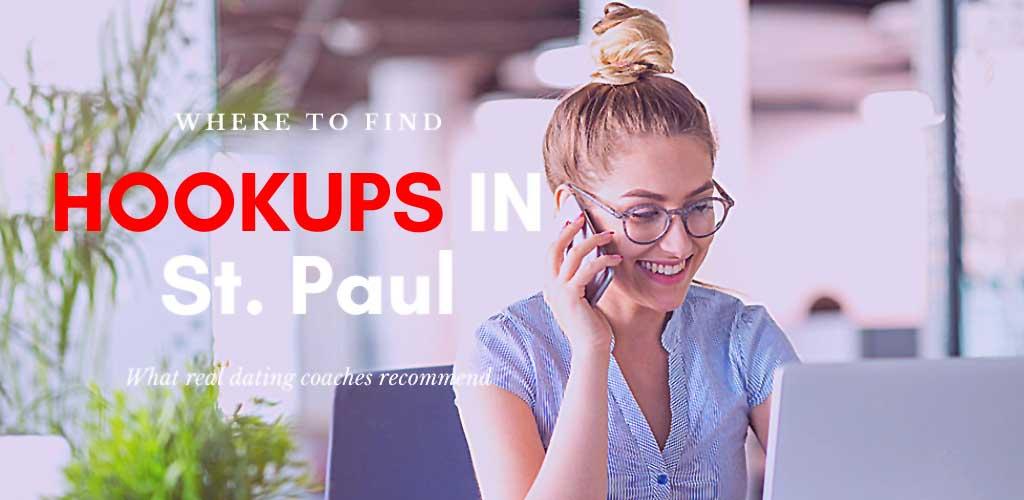 Girl looking for hookups in St. Paul online