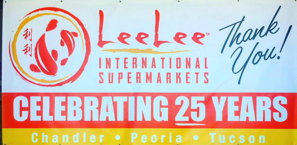 Lee Lee International Supermarket signage