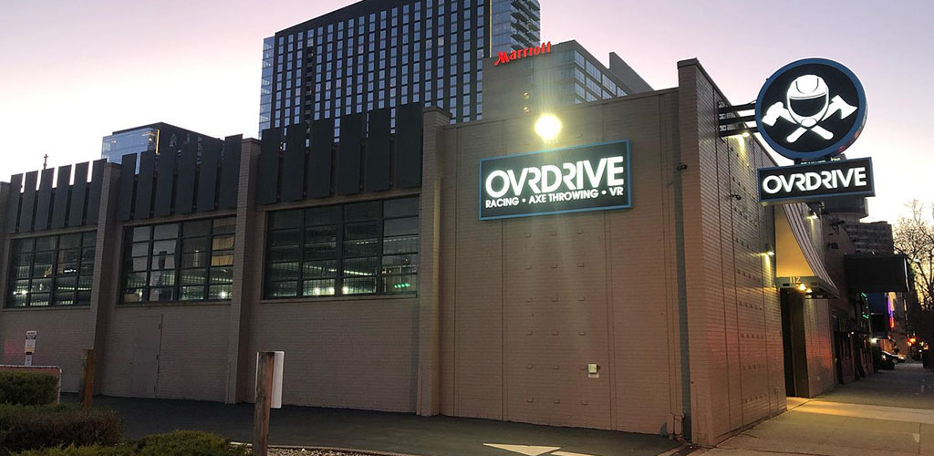 Exterior of Ovrdrive