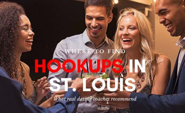 Singles mingling in a bar looking for hookups in St. Louis