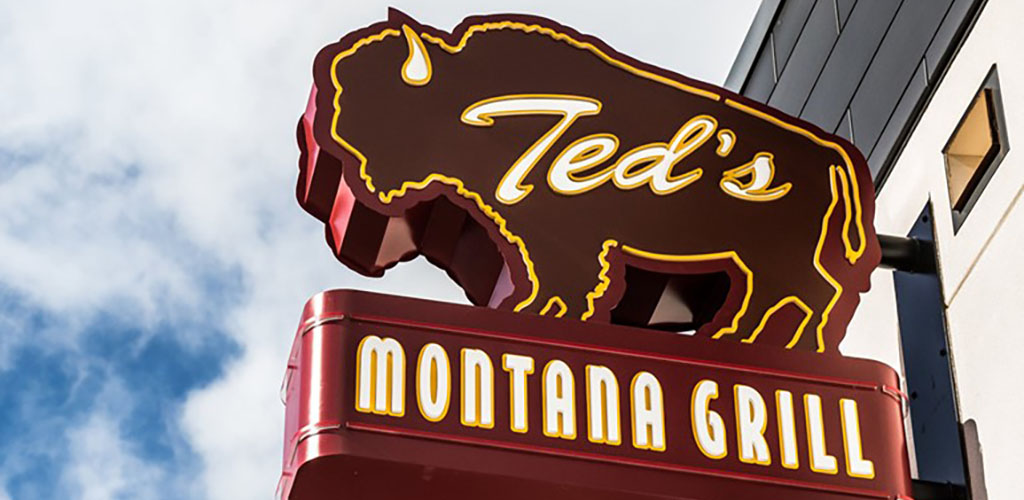 Ted's Montana Grill is great for authentic American dining and Aurora hookups