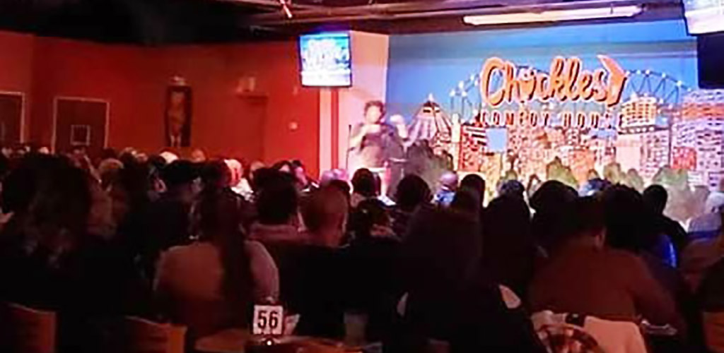 Full house at Chuckles Memphis