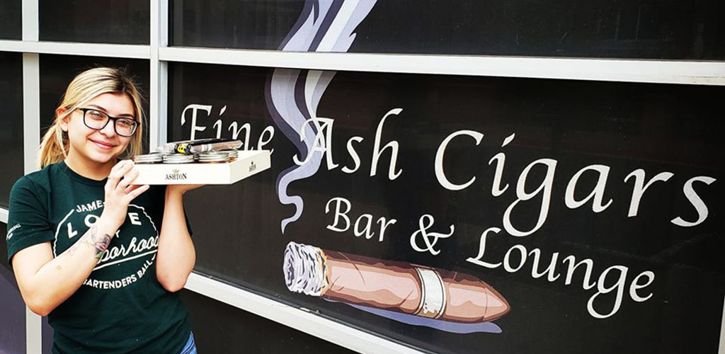 Fine Ash Cigars Bar & Lounge is a friendly spot for mingling and finding Glendale hookups