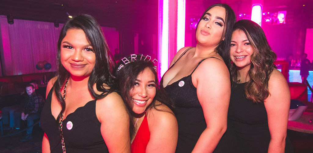 BBW in Atlanta during a bachelorette party at Havana Club