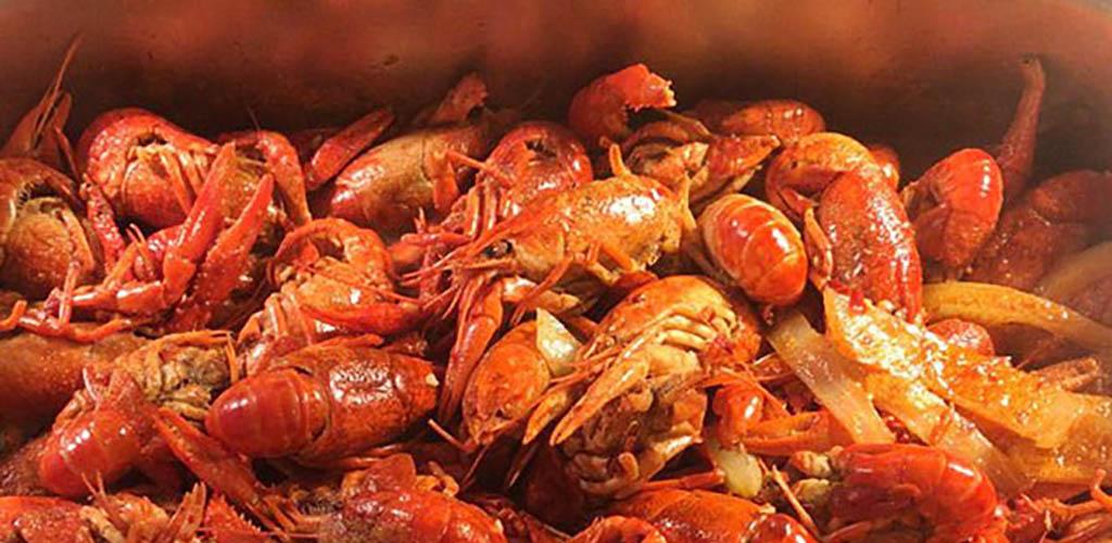 Fresh shrimp from Homey Hotpot