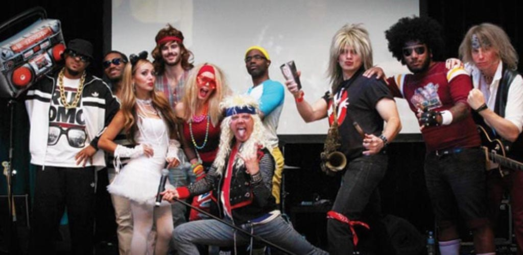 An 80s dance party at Lillian's Sports Bar