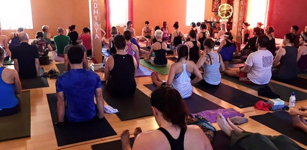 Before a Maya Yoga class