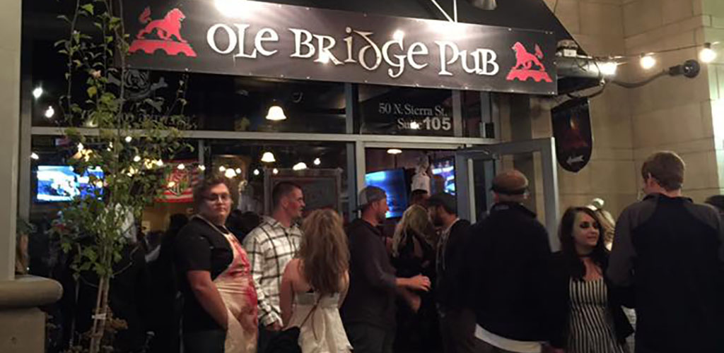 Ole Bridge Pub is in a prime location for scoring Reno hookups