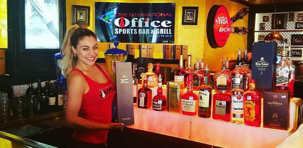 The Laredo International Office Sport Bar and Grill is your quintessential Laredo hookup bar