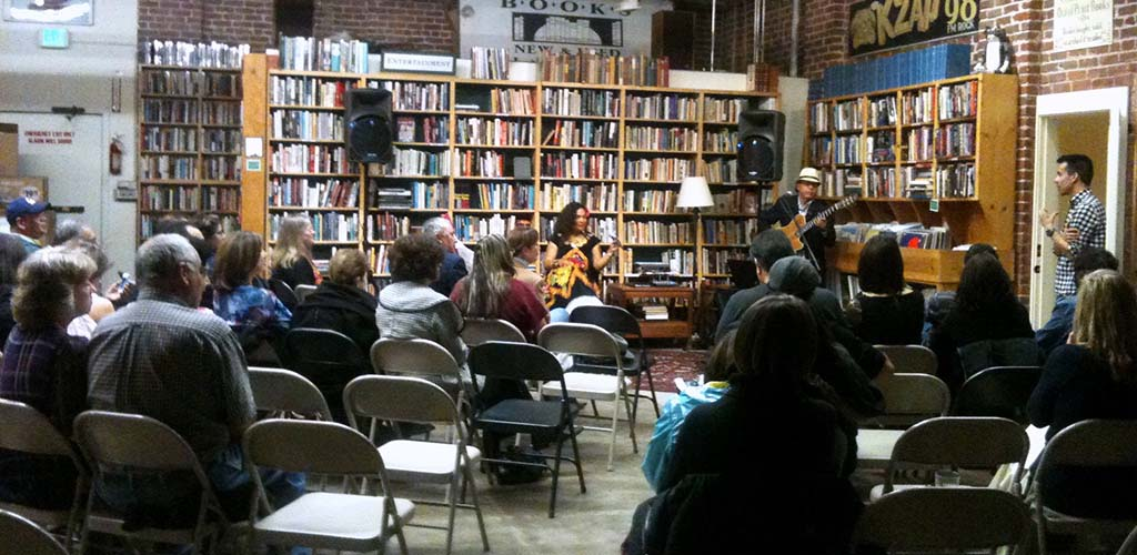 A literary event at Time tested Books