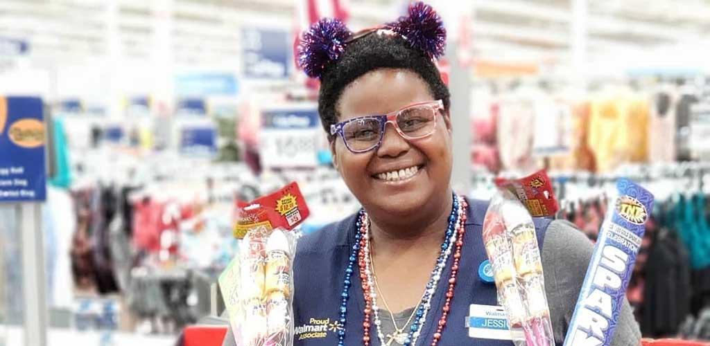 The friendly staff at Walmart