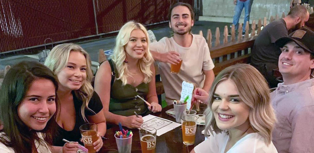 Have a few cold ones at Backstreet Brewery and find Irvine hookups