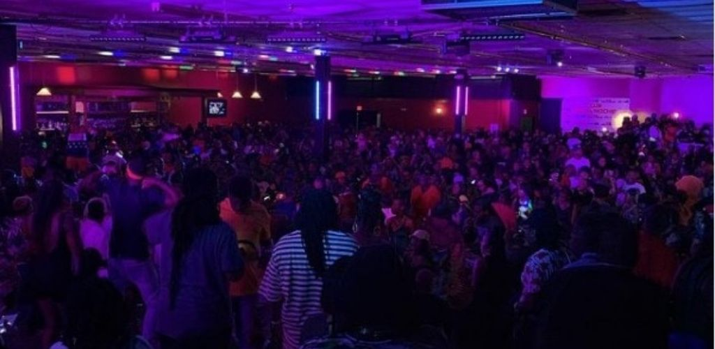 A busy Saturday night at Bella Noche - the biggest place for hookups in Baton Rouge