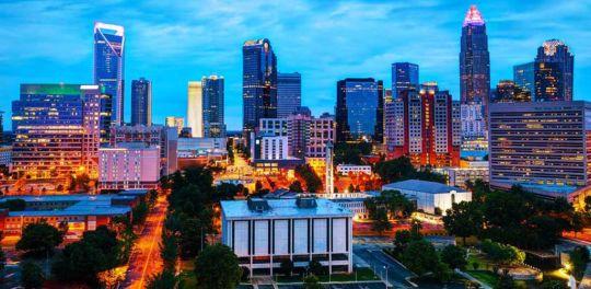 Hotspots where you can meet single BBW in Charlotte North Carolina