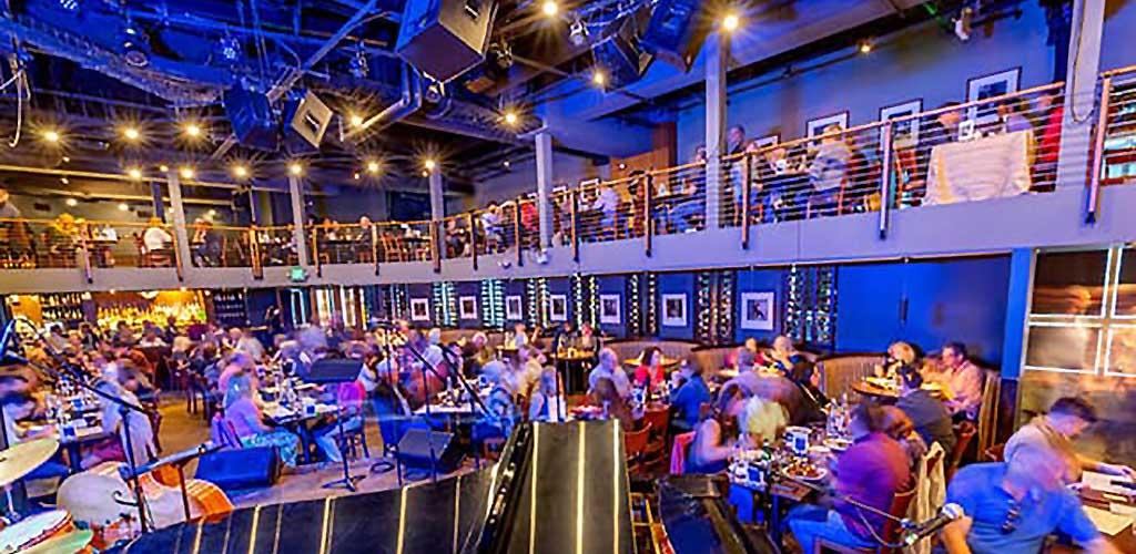 A full house at Dakota Jazz Club and Restaurant