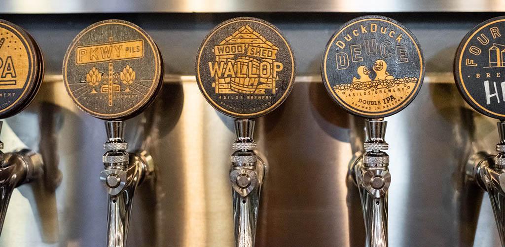Four Silos Brewery is a popular Gilbert Arizona hookup bar