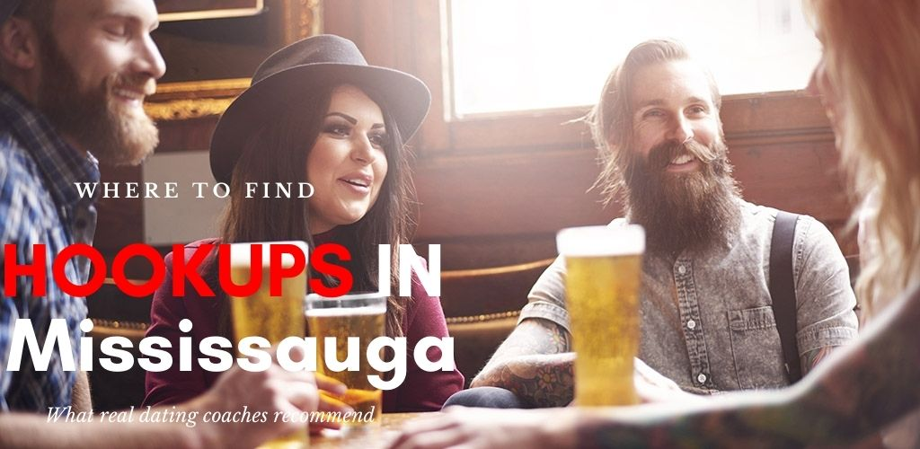 Young hip woman finding Mississauga Ontario hookups at a pub