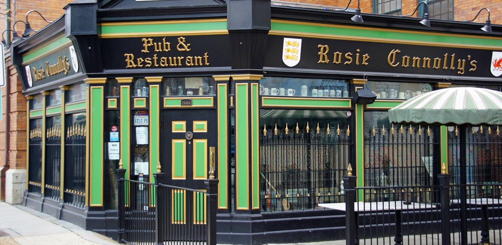 Rosie Connolly's is Richmond's hookup bar of choice