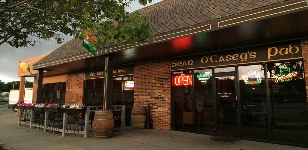 Exterior of Sean O'Casey's Pub