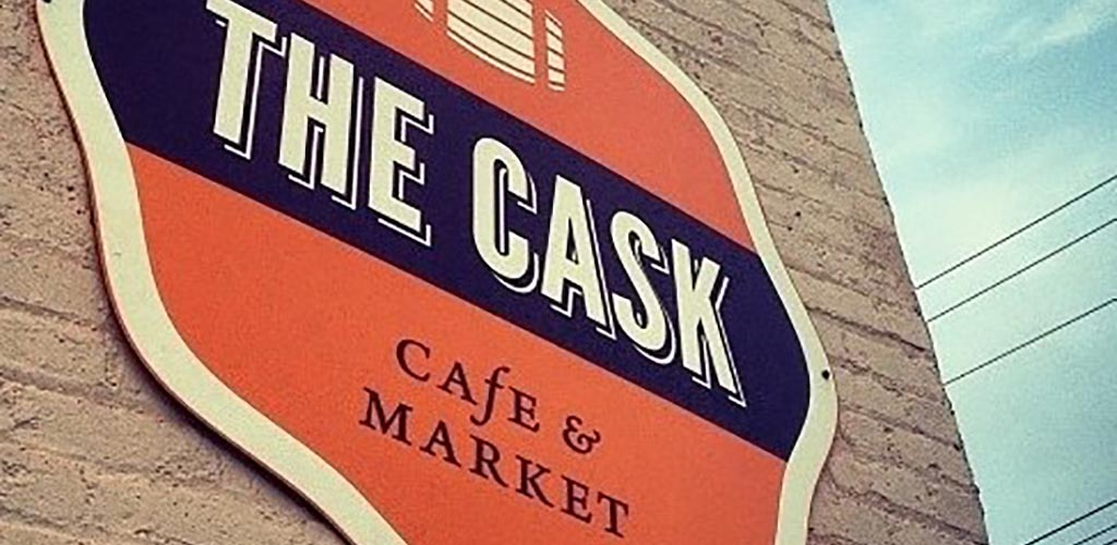 The Cask Cafe is a chill and cozy place for the classic southern Richmond hookup
