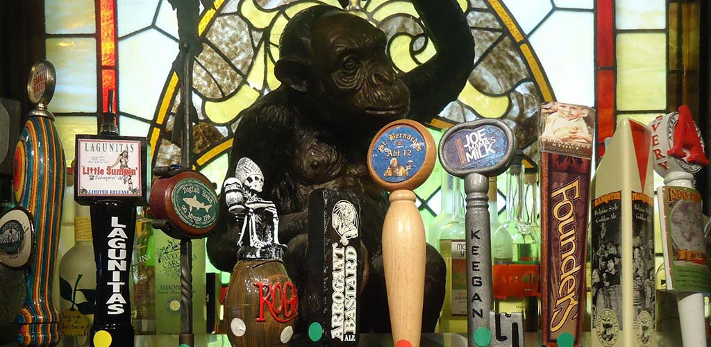 The Iron Monkey is a popular Jersey City New Jersey hookup bar