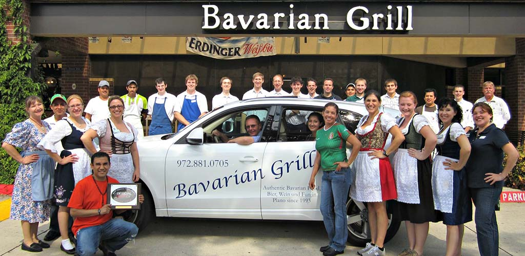 Bavarian Grill is a beer garden that will get you laid in Plano