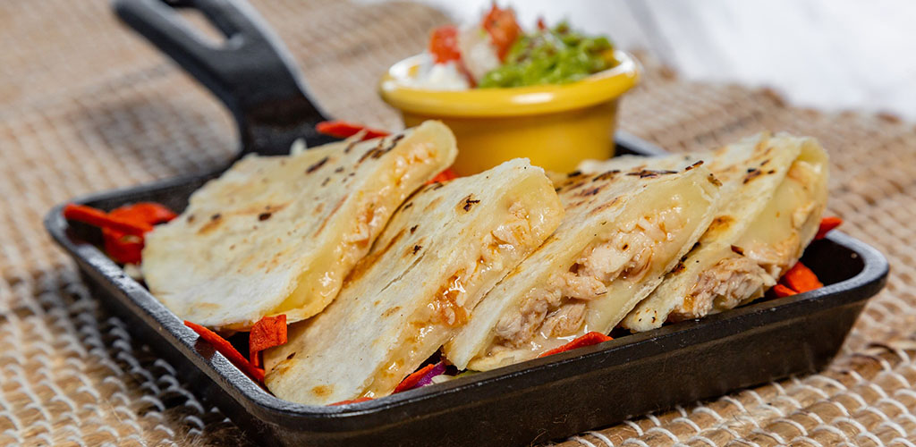 Freshly made quesadillas from Acapulco Mexican Restaurant