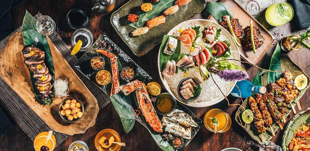 Various seafood from Baku