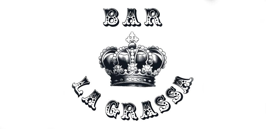 Bar La Grassa signage